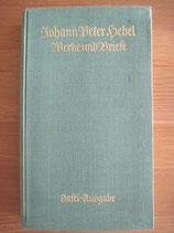 Johann Peter Hebel: Werke und Briefe