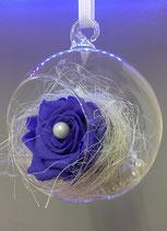 Crystal Drop dark purple