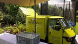 Ausschankwagen Piaggio Ape Miete