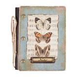 Notizbuch von Clayre & Eef // Schmetterlinge