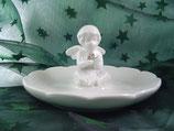 Keramikteller mit Engel von Clayre & Eef