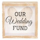 Spardose Our Wedding Fund