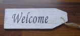"""Holzanhänger """"Welcome"""""""