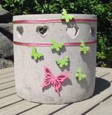 Übertopf / Blumentopf aus Zement