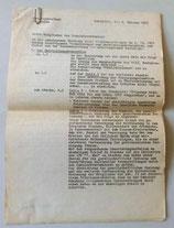 Gemeindeverband Schlieben - Protokoll der Sitzung vom 9.11.1972