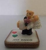 Hochzeitspaar Teddy Kachel