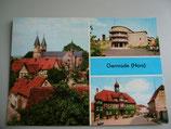 Ansichtskarte - Gernrode (Harz)