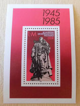 Briefmarke - 40. Jahrestag der Befreiung vom Faschismus 1945-1985 - DDR