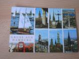 Ansichtskarte - Gruss aus Hamburg