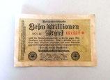 Zehn Millionen Mark - Reichsbanknote
