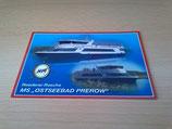 "Ansichtskarte - MS ""Ostseebad Prerow"""