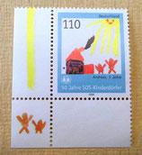 Briefmarke - 50 Jahre SOS-Kinderdörfer - 1999