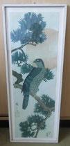 Japanischer Kunstdruck Vogel