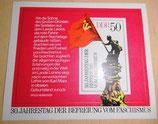 Briefmarke - 30. Jahrestag der Befreiung vom Faschismus - DDR 1975