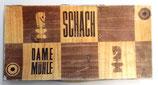Schach-Dame-Mühle-Spiel -DDR Spika
