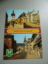 Ansichtskarte - Saalfeld/Saale