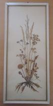 Bild mit gepressten Blumen - DDR - Nr. 8