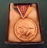 Medaille - NVA - Reservist der nationalen Volksarmee - Bronze/ Silber