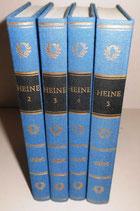 Heines Werke in fünf Bänden - Band 2 bis 5 - Aufbau-Verlag Berlin und Weimar 1981