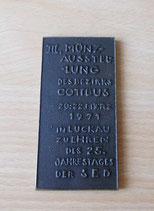 Plakette III. Münzausstellung