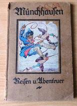 Münchhausen Reisen und Abenteuer - Verlag von Eduard Fode Chemnitz - 1920