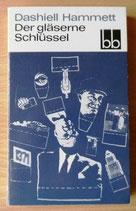 Dashiell Hammett - Der gläserne Schlüssel - Aufbau-Verlag Berlin und Weimar