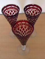 Kristallglas - Rubin Kristall