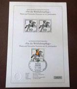 """Schwarzdruck des Sonderwertzeichens """"Für die Wohlfahrtspflege"""" - Nr. 2829"""
