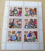Briefmarkenbogen - König Drosselbart - DDR