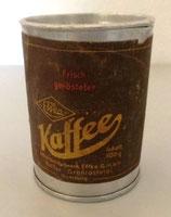"""Alte Kaffeedose """"Effka"""" - Lebensmittelwerk Effka GmbH Hamburg"""