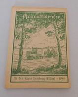 Heimatkalender Kreis Herzberg 1959