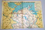 Übersichtskarte zum Kursbuch der Deutschen Reichsbahn