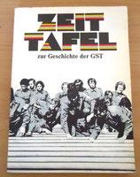 Zeittafel zur Geschichte der GST – 1952-1979 – Militärverlag Berlin 1982