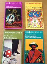 4er Set Taschenbücher - Kompass-Bücherei - Verlag Neues Leben Berlin (#1)
