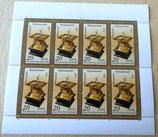 Briefmarkenbogen - Tischsonnenuhr 1983 - DDR