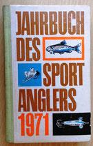 Jahrbuch des Sportanglers 1971 - Sportverlag Berlin