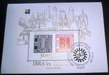Briefmarke - IBRA '99 Briefmarken Weltaustellung Nürnberg - gestempelt