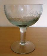Kristallglas mit Schliffdekor - 0,3 Liter - DDR (#2)