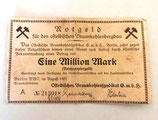 "Notgeld ""Eine Million Mark"""