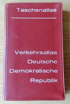 Verkehrsatlas Deutsche Demokratische Republik - VEB Hermann Haack - 1966