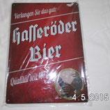 Blechschild - Hasseröder Bier