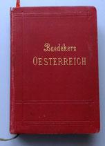 Baedekers Östereich Reisehandbuch - um 1910