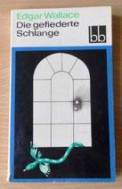 Edgar Wallace - Die gefiederte Schlange - Aufbau-Verlag Berlin und Weimar