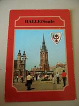 Ansichtskarte - Haale (Saale)