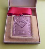 Medaille Federball 1981