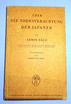 Über die Todesverachtung der Japaner - Erwin Bälz - 1936