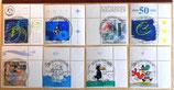 Verschiedene Briefmarken - 17 Stück - gestempelt