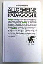 Allgemeine Pädagogik - Wilhelm Flitner - Ernst Klett Verlag Stuttgart