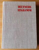 Deutsche Epigramme aus vier Jahrhunderten - Verlag Philipp Reclam Jun. Leipzig