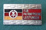 Abzeichen – Für patriotische Leistungen - DDR